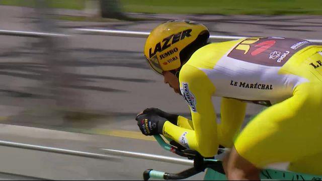 5e étape, Genève - Genève: victoire de Primoz Roglic (SLO) [RTS]
