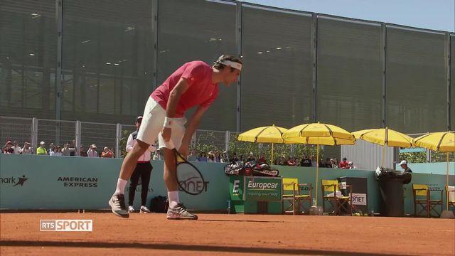 Tennis: le retour de Roger Federer sur terre battue [RTS]