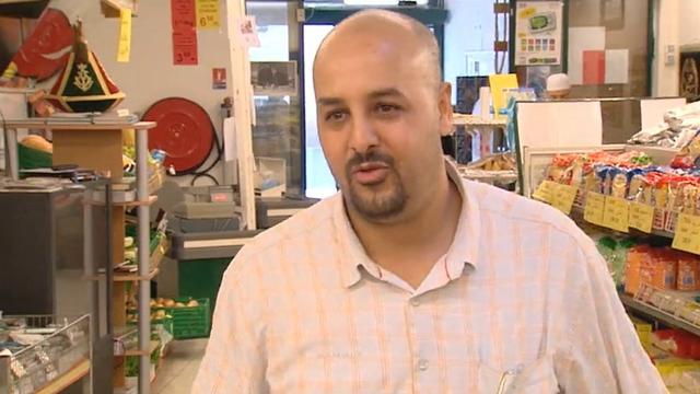 La famille Ben Salem partageant le repas du soir lors du ramadan. [RTS]