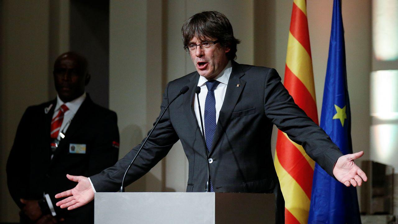 Carles Puigdemont a été autorisé par la justice à se présenter aux élections. [Pascal Rossignol - Reuters]