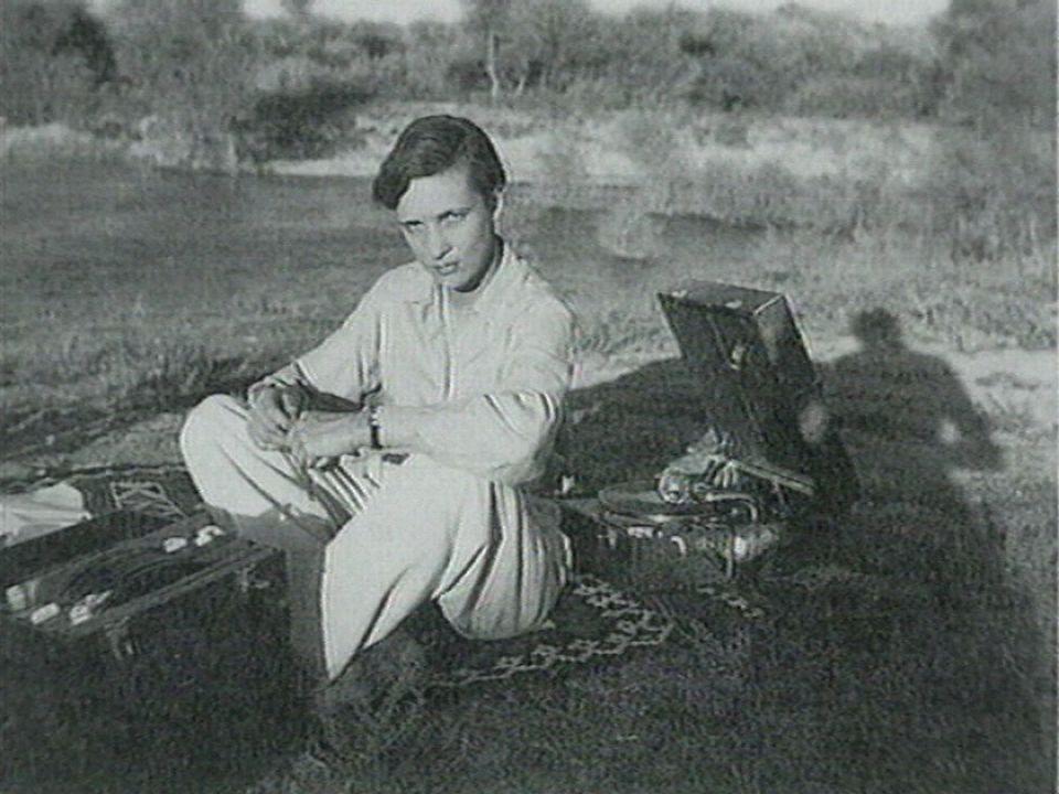 Annemarie Schwarzenbach dans les années 30. [RTS]