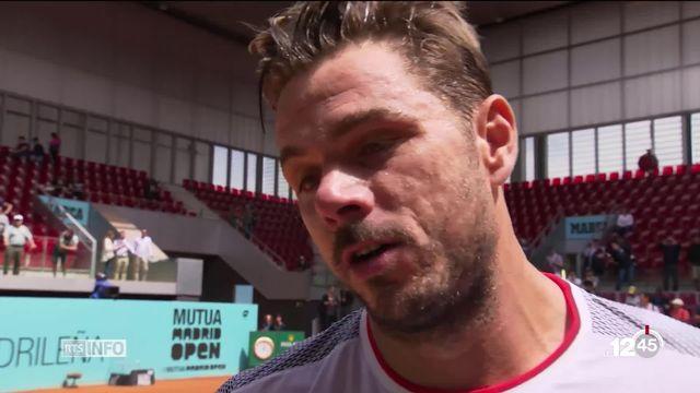 Tennis: Stan Wawrinka réussit son entrée au Masters 1000 de Madrid. [RTS]