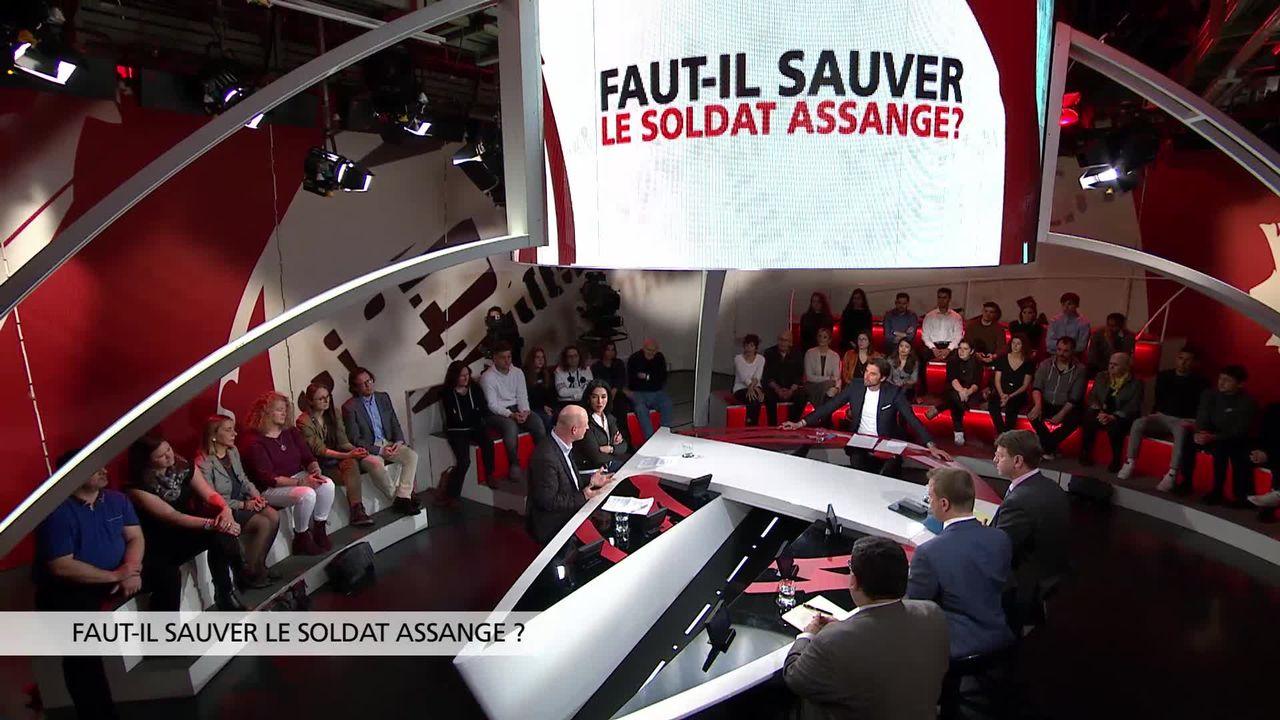 Faut-il sauver le soldat Assange? [RTS]