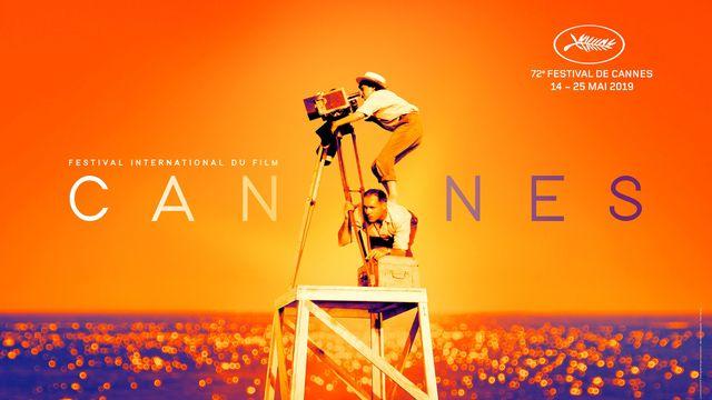 L'affiche du Festival de Cannes 2019. [Philippe Savoir, Flore Maquin  - Festival de Cannes/Filifox / AFP]