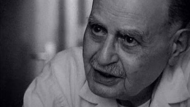 Albert Cohen en 1974. [RTS]