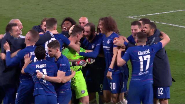 1-2 retour, Chelsea - Francfort (1-1, 4-3 tab): les buts du match [RTS]