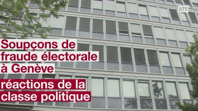 Soupcons de fraude electorale a Geneve reactions de la classe politique [RTS]