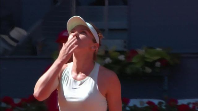 1-2, Belinda Bencic (SUI) – Simona Halep (ROM) 2-6, 7-6, 0-6: Bencic craque lors du set décisif et Halep se qualifie pour la finale [RTS]