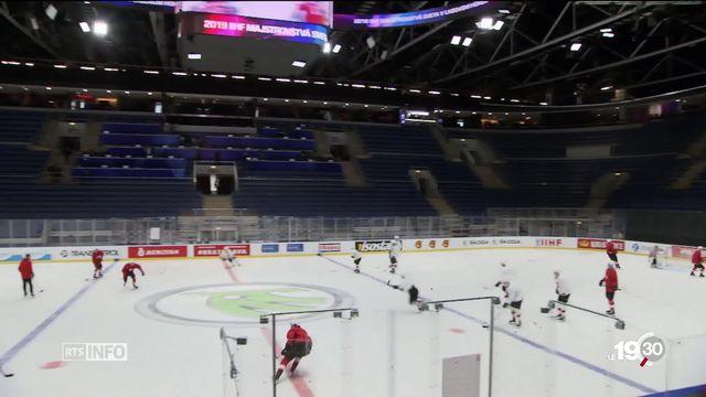 L'équipe de Suisse de hockey sur glace nourrit de grandes ambitions pour les championnats du monde en Slovaquie. [RTS]