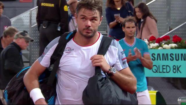 1-4, Stan Wawrinka (SUI) – Rafael Nadal (ESP) 1-6, 2-6: Wawrinka impuissant face à un Nadal en grande forme [RTS]