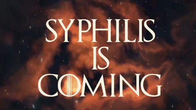 Nouvelle campagne de prévention contre la Syphilis.