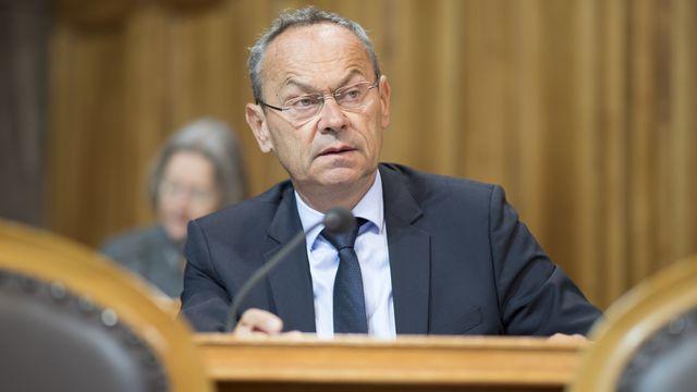 Olivier Français, conseiller aux Etats (PLR/VD). [Anthony Anex - Keystone]