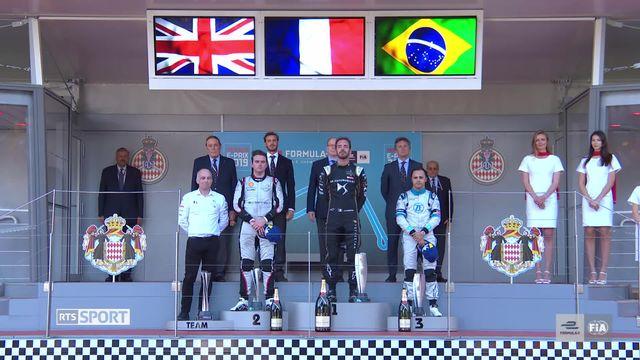 Formule E, Monaco: Vergne s'impose, Buemi 5e [RTS]