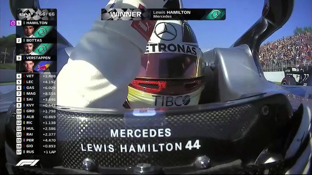 GP d'Espagne (#5): nouveau doublé des Mercedes, Vettel (GER) 4e [RTS]