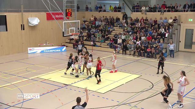 Basket: dames, la revanche de Fribourg sur Winterthour [RTS]
