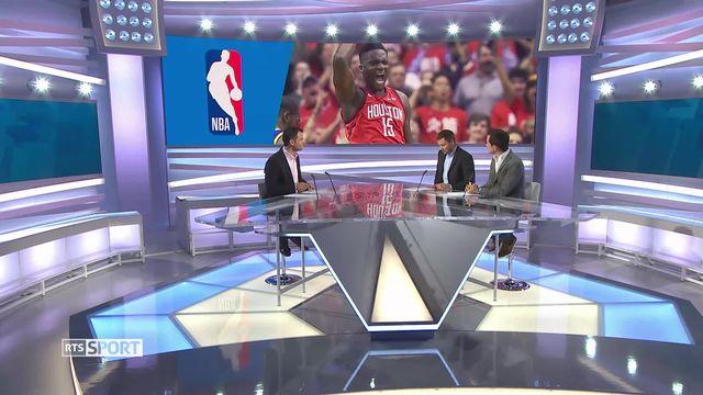 Basket: NBA, fin de parcours pour Clint Capela [RTS]