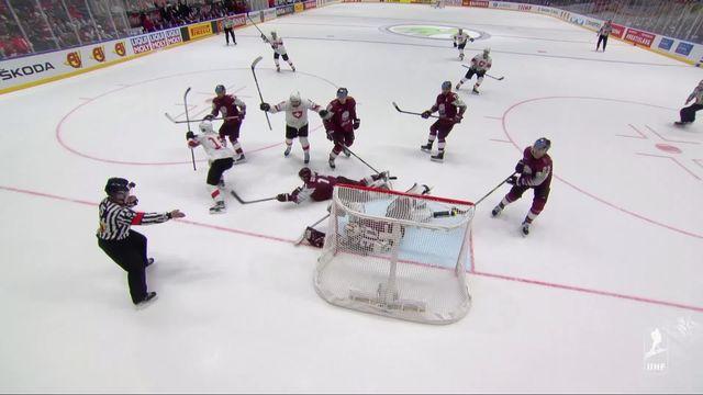 Hockey, Mondial 2019: Suisse - Lettonie (3-1) [RTS]