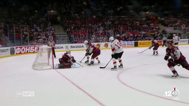 L'équipe de Suisse de hockey sur glace reste invaincue après deux matchs aux championnats du monde de Bratislava [RTS]