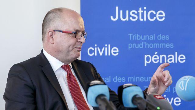 Le procureur général du canton de Genève, Olivier Jornot. [Keystone]