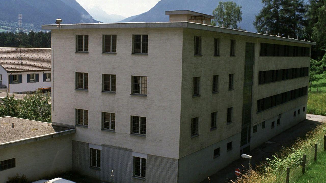 Le centre de correction cantonal Realta à Cazis. [Arno Balzarini - Keystone]