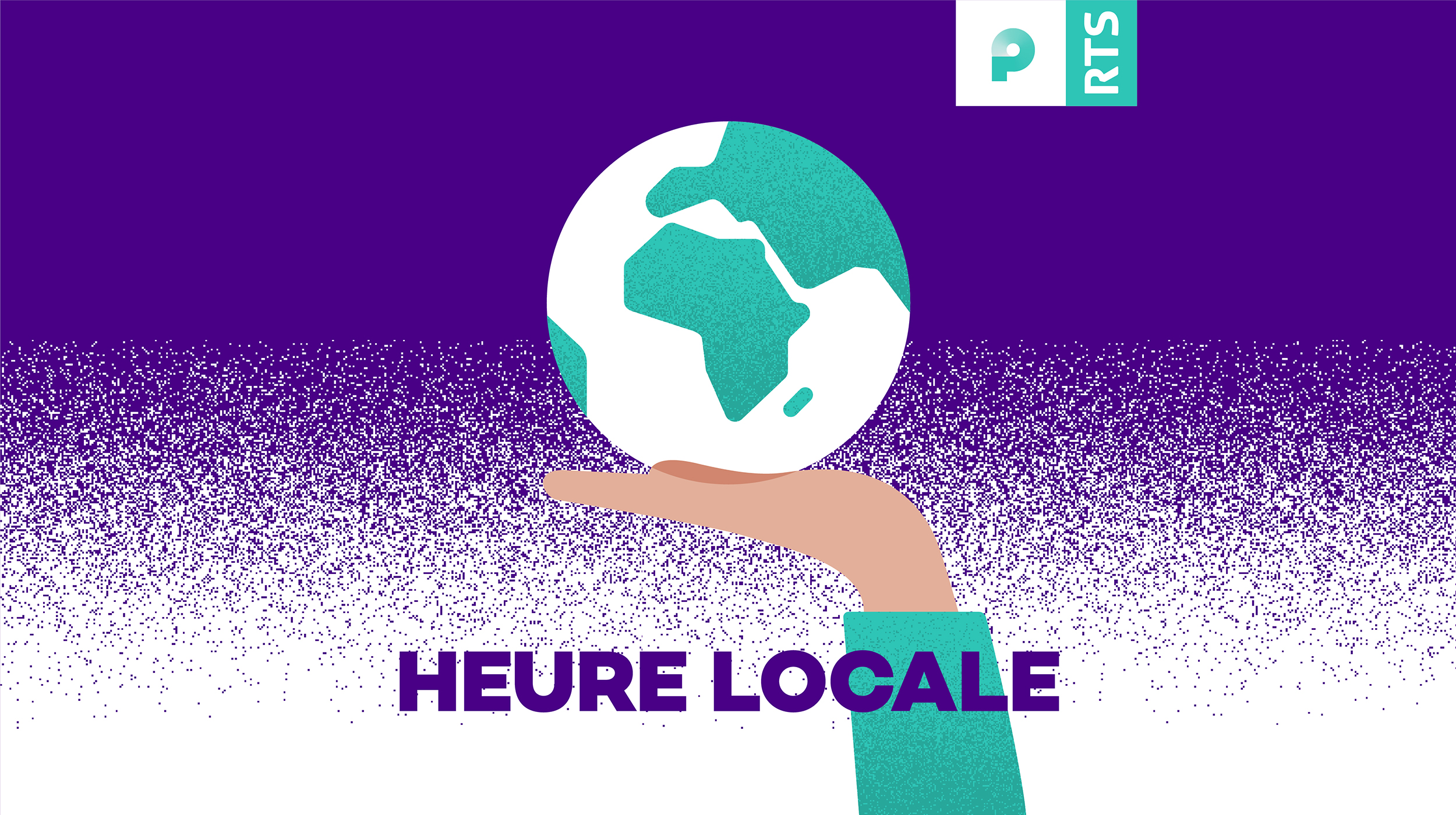 Logo podcast Heure Locale. [RTS]