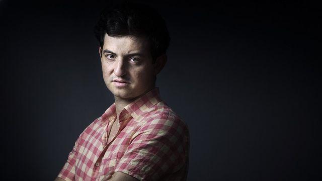 """Nathaniel Rich, romancier et essayiste américain, auteur de """"Perdre la Terre"""". [Joël Saget - AFP]"""