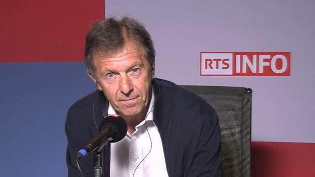 Edmond Isoz était l'invité mercredi matin de La Matinale sur RTS La Première. [RTS - RTS]