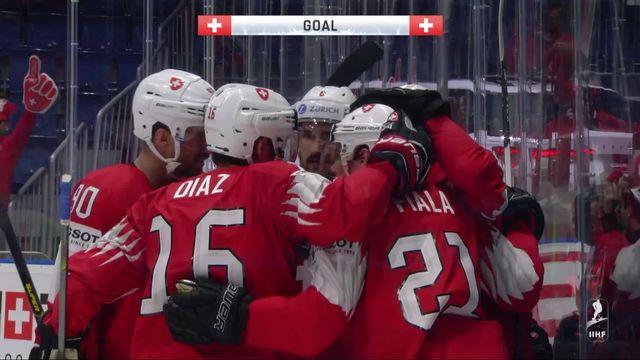 Groupe B, Suisse - Norvège (4-1): carton plein pour la Suisse après quatre rencontres [RTS]