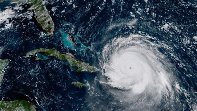 Sans certaines données capitales, la trajectoire de l'ouragan Irma n'aurait pas pu être détectée en 2017. [AP NOAA-NASA - Keystone]