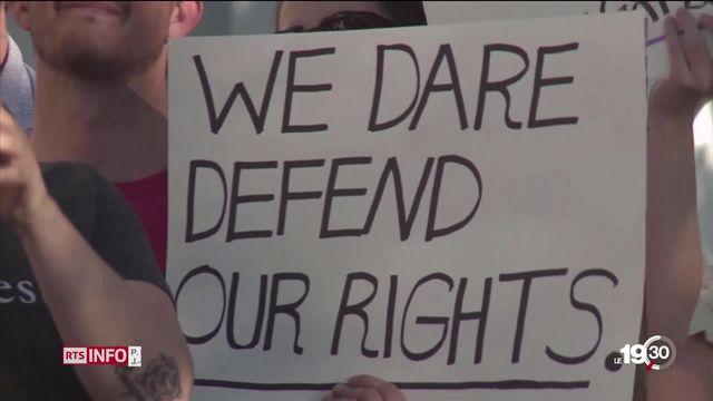Aux Etats-Unis, l'Alabama a voté une loi ultra-répressive concernant le droit à l'avortement. [RTS]