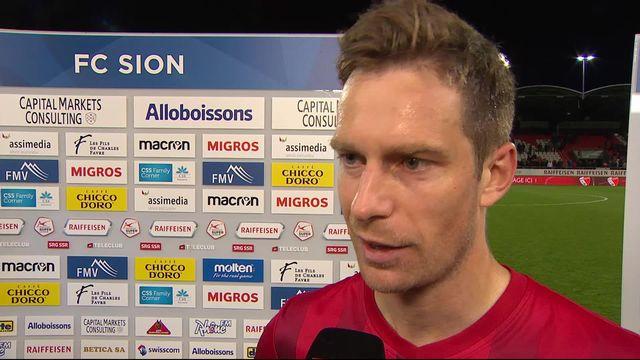 Super League, 34ème journée: Sion – NE Xamax (1-0): Charles-André Doudin déçu après la défaite [RTS]