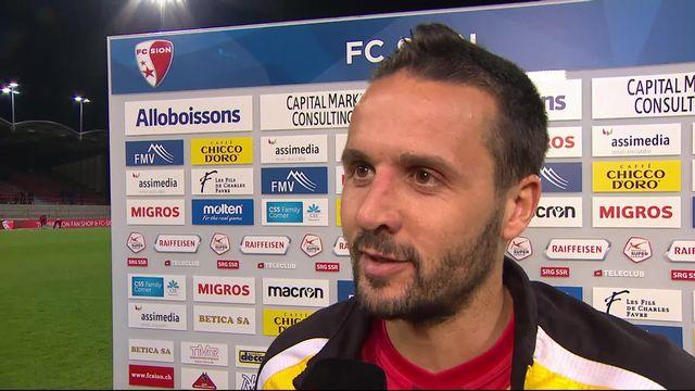 Super League, 34ème journée: Sion – NE Xamax (1-0): l'interview de Raphael Nuzzolo à l'interview après la rencontre [RTS]