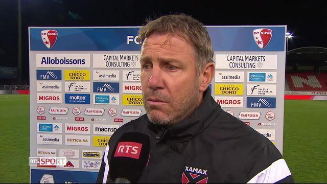 Super League, 34ème journée: Sion – NE Xamax (1-0): la première réaction de Stéphane Henchoz après le match [RTS]