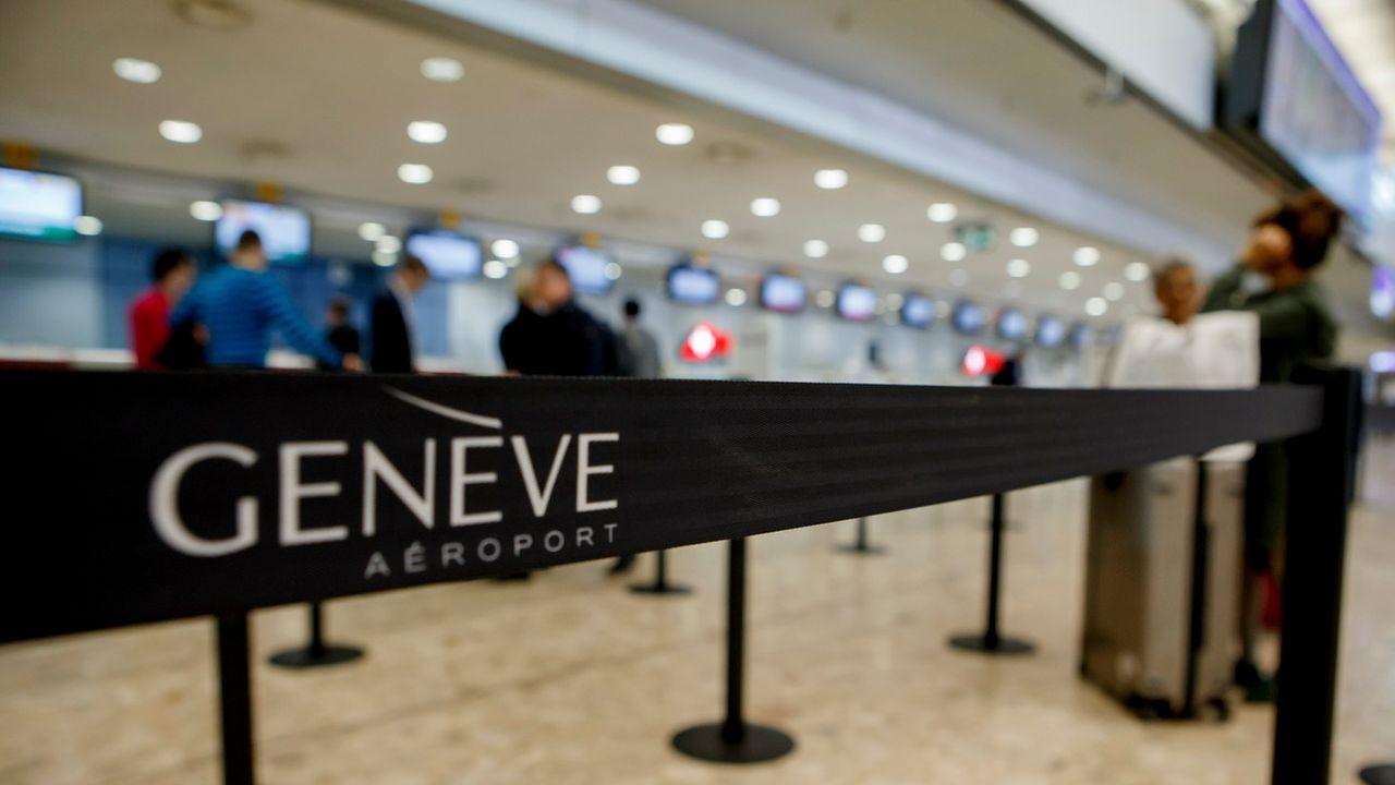 Le Ministère public a ouvert une procédure pénale contre le chef de la sûreté de Genève Aéroport. [Salvatore Di Nolfi - Keystone]