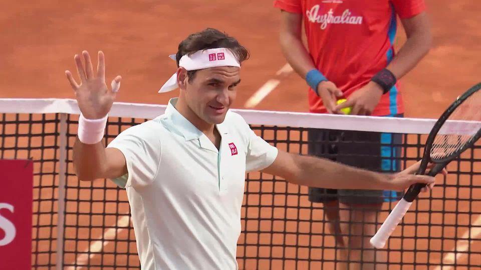 1-8, Borna Coric (CRO) – Roger Federer (SUI) 6-2, 4-6, : Federer sauve deux balles de match et s'impose au tie-break [RTS]