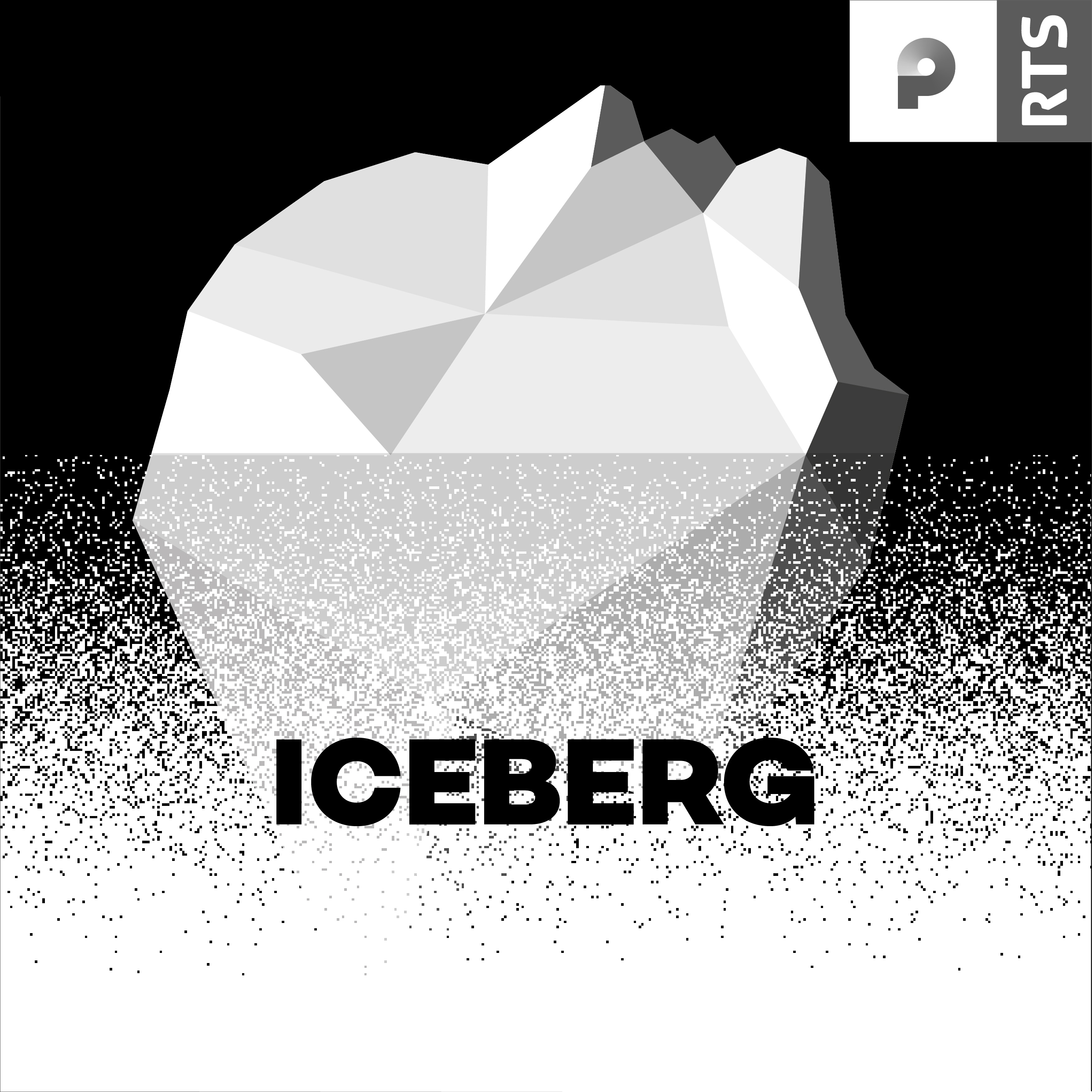 RTS Podcasts Iceberg cover 1400x1400px. [RTS]