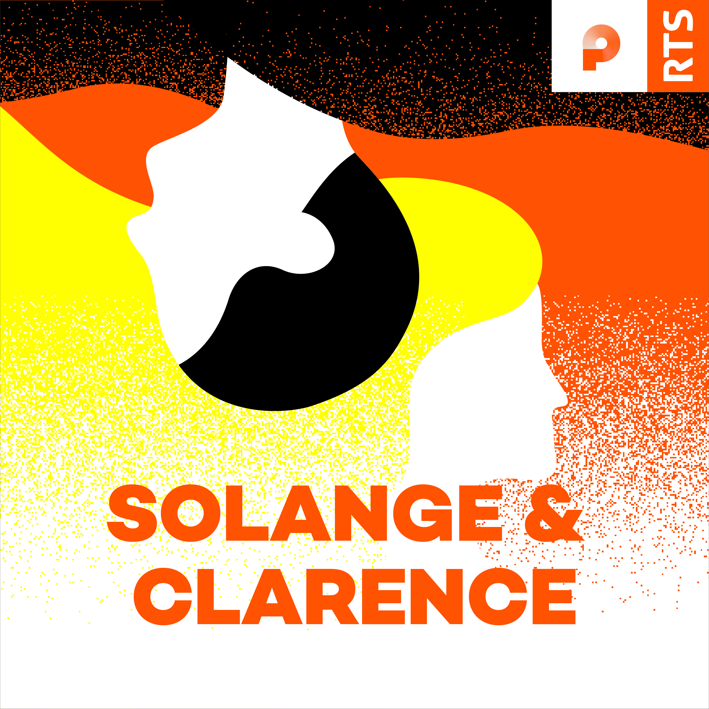 RTS Podcasts Solange & Clarence cover 1400x1400px. [RTS]