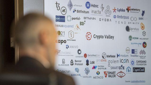 La Crypto Valley est la Silicon Valley des compagnies de la blockchain et des cryptomonnaies. [Urs Flueeler - Keystone]