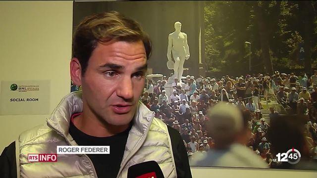 Roger Federer fait un marathon de tennis au Masters 1000 de Rome: plus de 4 heures de jeu jeudi. [RTS]