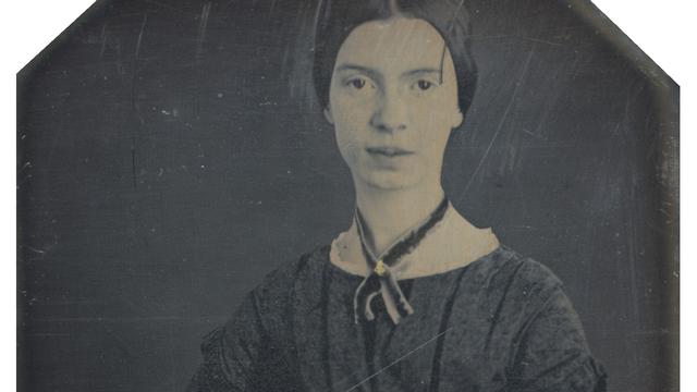 Daguerréotype d'Emily Dickinson, autour de 1847. [DP]