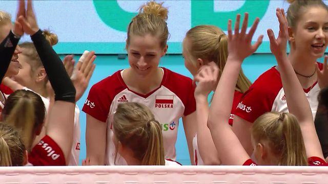 1-2 finale, Pologne - Thaïlande (25-18, 25-9, 25-23): la Pologne jouera la finale [RTS]