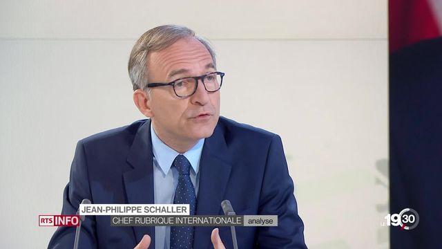 L'analyse de Jean Pierre Schaller, journaliste à la RTS. [RTS]