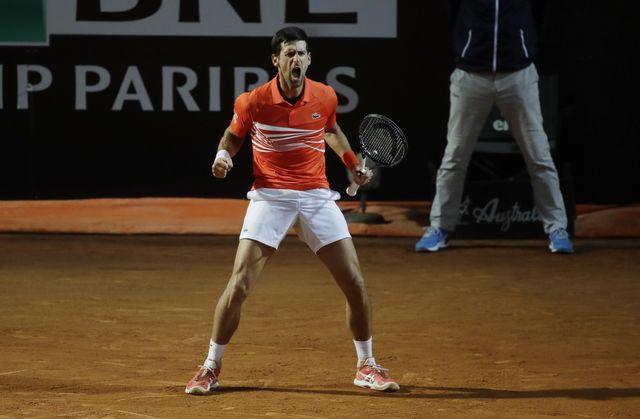 Djokovic s'est imposé avec une lutte de 3 heures. [Alessandra Tarantino - Keystone]