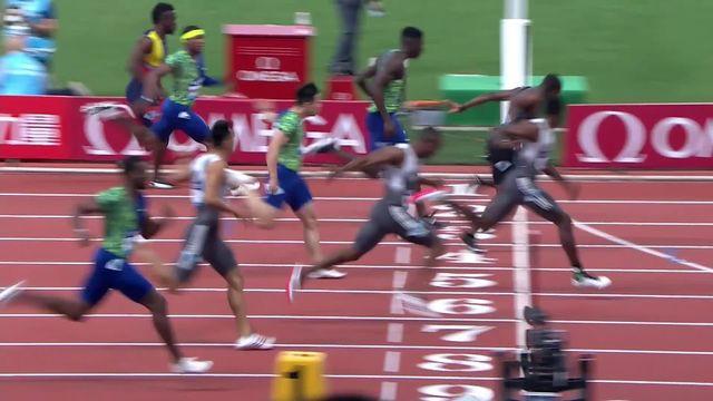 Shanghai (CHN), 100m messieurs: Noah Lyles (USA) s'impose [RTS]