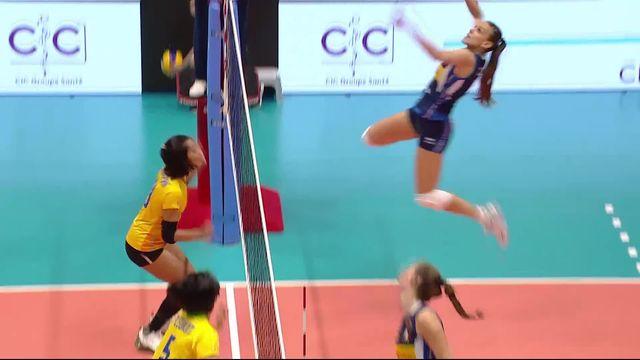 Petite finale, Thaïlande - Italie (20-25, 18-25, 14-25): L'Italie termine 3e [RTS]
