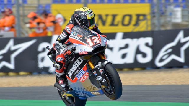 Lüthi s'est imposé déjà 4 fois sur le circuit du Mans. [Waldemar Da Rin - Freshfocus]