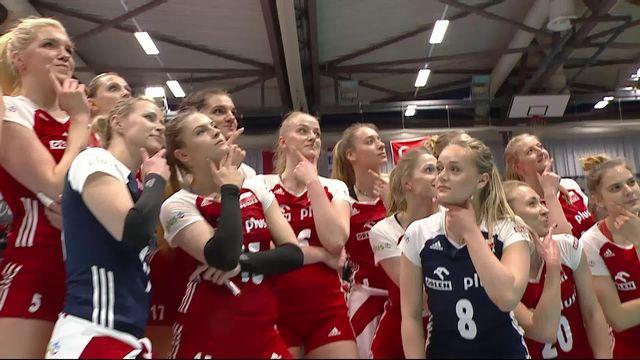 Finale, Pologne - Japon (25-15, 22-25, 25-17, 26-24): les Polonaises s'imposent [RTS]