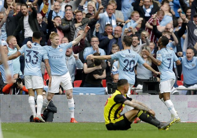 FA Cup: Manchester City réalise un triplé historique