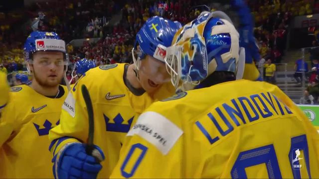Groupe B, Suède - Suisse (4-3): La Suisse essuie son premier revers dans ce Mondial [RTS]