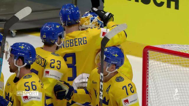 Hockey, Suède - Suisse (4-3): résumé de la rencontre [RTS]